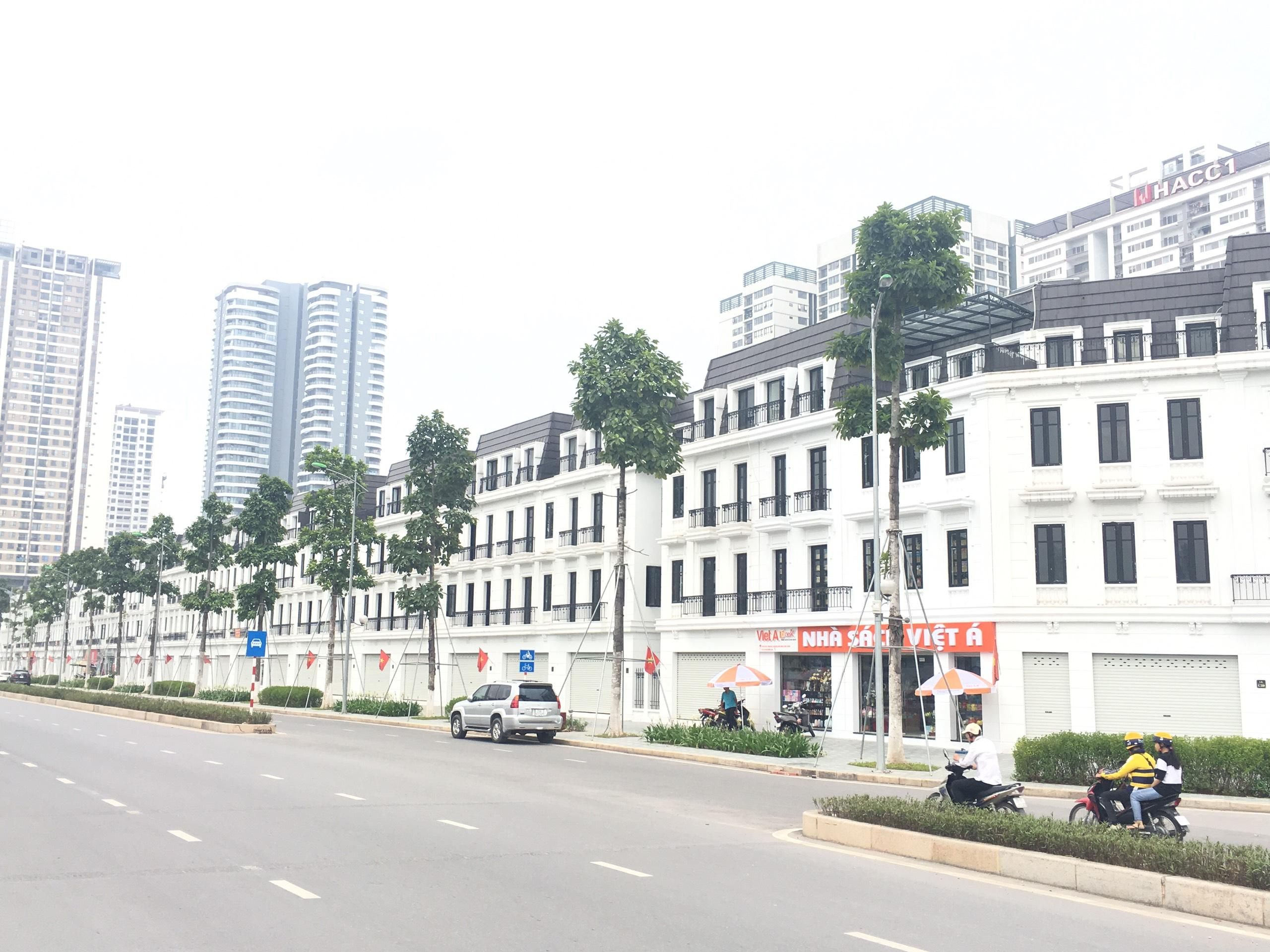 anh thuc te shophouse embassy garden tay ho tay dt 124m2 gia 280tr.m2